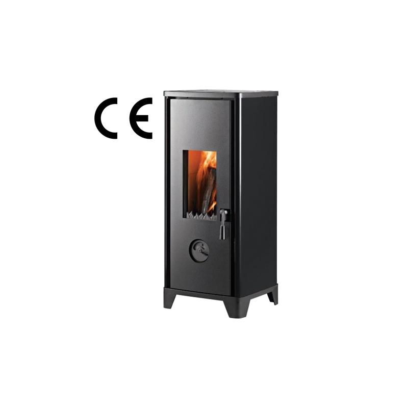 Kamin HTT HOHTO , Must, sisemõõt; 356 x 400 mm, 7 KW, kõrgus 902 mm