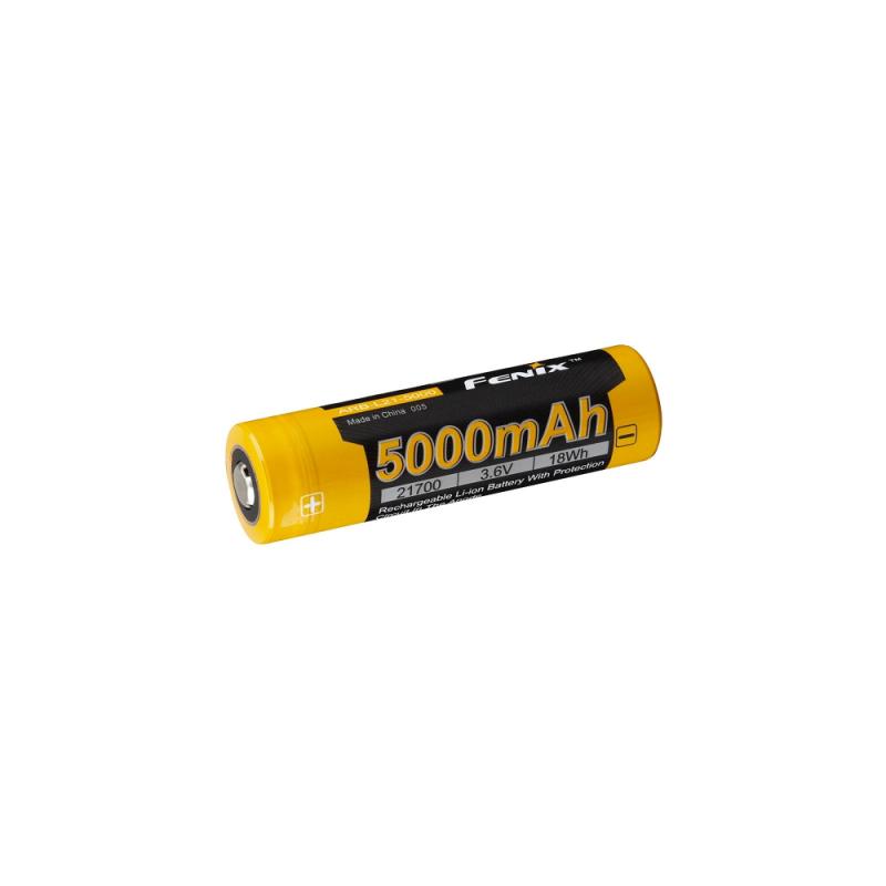 5000mAh 21700 Li-ion aku (Fenix)