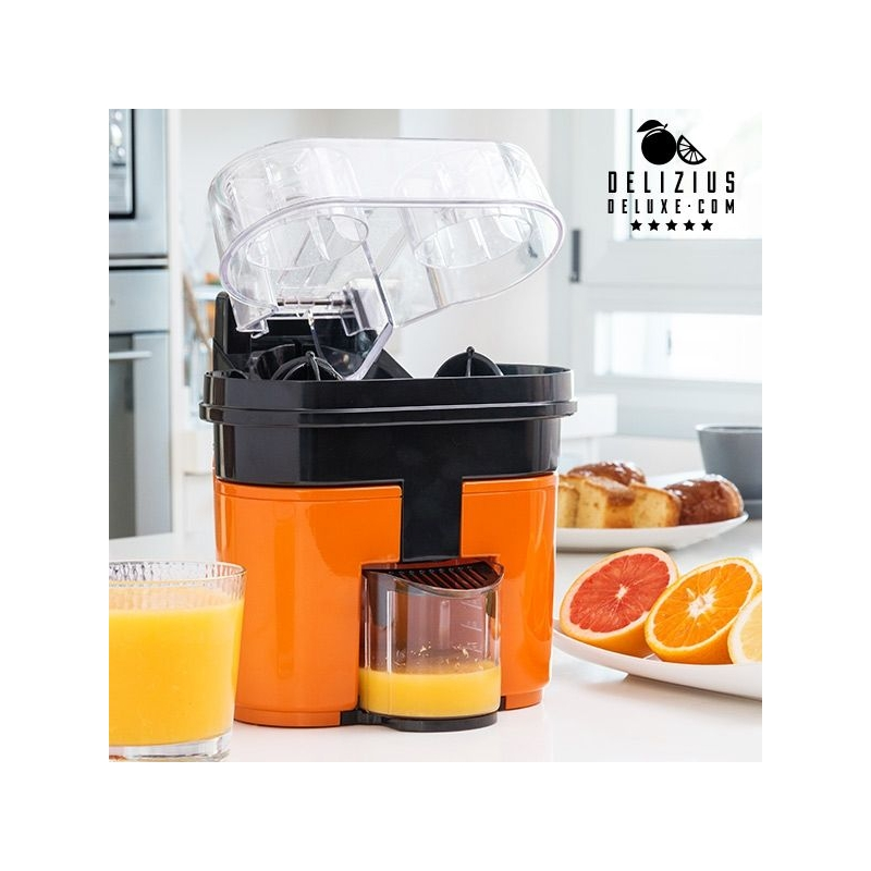 Elektriline Mahlapress Delizius Deluxe Double Orange Juicer 0,5 L 90W Oranž Must