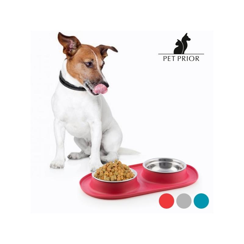 Libisemiskindel Looma Söögi Jooginõu Pet Prior (punane)