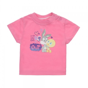 KI-31487-rose_Kinder-T-Shirt-von-Looney-Tunes-rose-KI-31487-rose.jpg