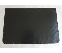 Ahju/kaminaesine plekk roostevaba,Suurus 400x600 mm