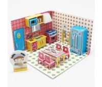 3D puzzle - Honey Room: köök. 65 osa