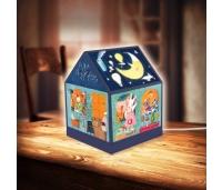 3D Puzzle  Maja. Valgustusega