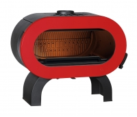 KAMIN FIFTY ARCHE, ROUGE
