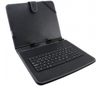"Klaviatuur Keyboard Case For 7"" Tablets Black"