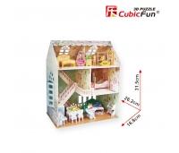 3D puzzle - Unistuste maja . 160 osa
