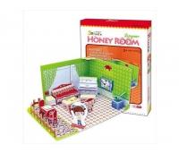 3D puzzle - Honey Room: elutuba .49 osa