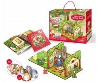 3D puzzle - Punamütsike. Raamat, Mängukaardid