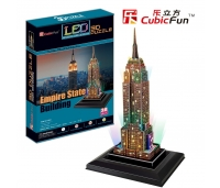 3D pusle Empire State Building