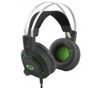 Mänguri kõrvaklapid  Black/Green