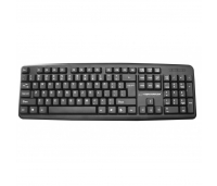 Klaviatuur Keyboard USB Black