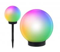 AIAVALGUSTI  SOLAR LED PALL 20x20x53cm , Värviline