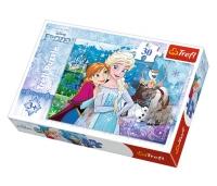 Frozen tegelased puzzle 30 tk