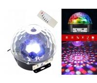 DISKOPALL LED CRYSTAL MAGIC BALL LIGHT