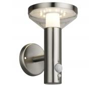 Päikesepaneeliga LED välisvalgusti anduriga 3 valgusrežiimi, IP44