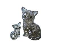 3D puzzle - Kass ja kassipoeg- 49 tükki
