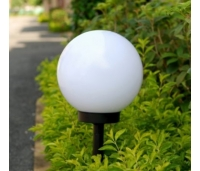 SOLAR LED PALL  25x25x58cm ,Valge
