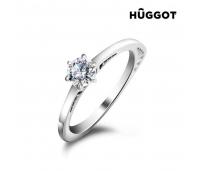 Hûggot Geometry 925 ehe hõbesõrmus tsirkoonidega ja Swarovski®kristallidega (175 mm.)