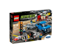 LEGO Speed Champions Ford F150 ja Ford Hot Rod