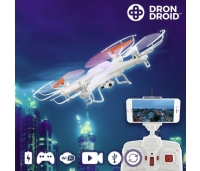 Droon Droid Hanks WFHDV2000, led tuled, videokaamera, 360º pöörlev