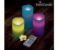 EmotiCandle LED-küünlad (3 tk/pk)