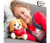 Pehme mänguasi südamega koer Love Romantic Items