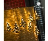 LED TULEDEGA VALGUSKETT JÕULUPUU CHRISTMAS PLANET (10 LED)