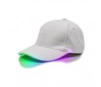 LED valgusega nokamüts, valge