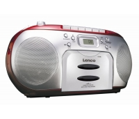 CD-RAADIO LENCO, punane