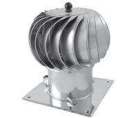 Turbo vent.Darco STANDART dm 150-300mm AL/ZN, mehaaniline, avatav