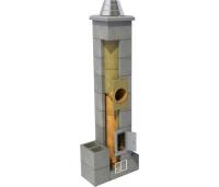 Erfe moodulkorsten 1suitsulõõr ja 0 ventilatsioonilõõri, erinevad kõrgused ja diameetrid