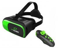 """3D virtuaalprillid Esperanza , sobib  3.5"""" - 6"""" nutitelefonidele, mängupuldiga arvutile, must/roheline"""