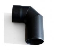 Must suitsutoru põlv, Ø115mm