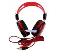Kvaliteetsed mikrofoniga kõrvaklapid PUNANE