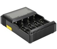 Nitecore D4 (LCD) akulaadija