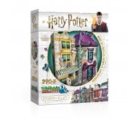 3D Puzzle - Harry Potter - Proua Malkini ja Florean Fortescue jäätisekohvik - 290 tükki