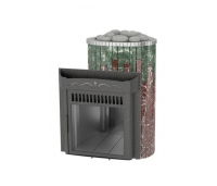 Saunaahi Maxi, Mini Serpatiin+Rosso levante (küttevõimsus 6-16 m3/ 16kW) kütmine teisest ruumist