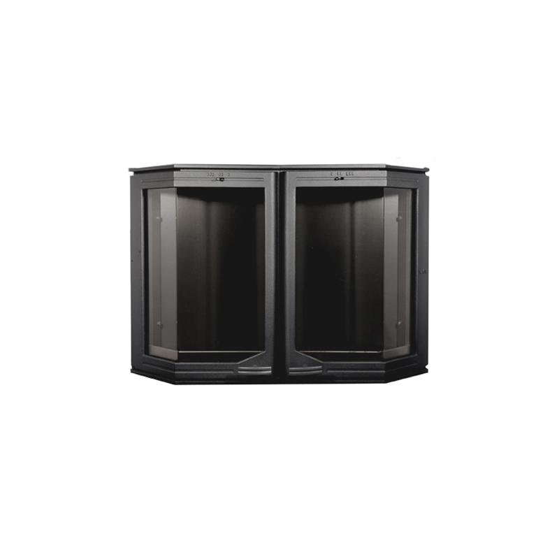 HTT 520 Kamina/Ahjuuks, Must, Sisemõõt:655 x410 mm, Välismõõt:742 x 500 mm