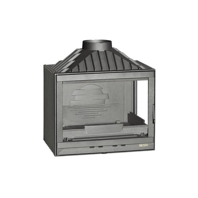 Kaminasüdamik 700 Compact parem. nurga-klaasiga 6276-54