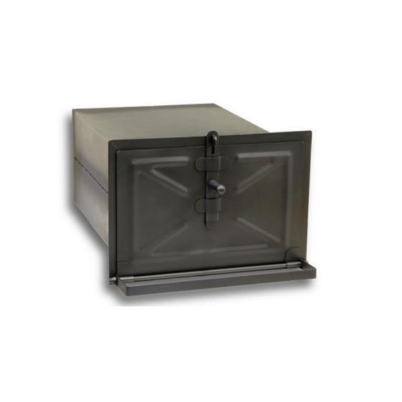 Praeahi musta uksega (280x230x500mm)