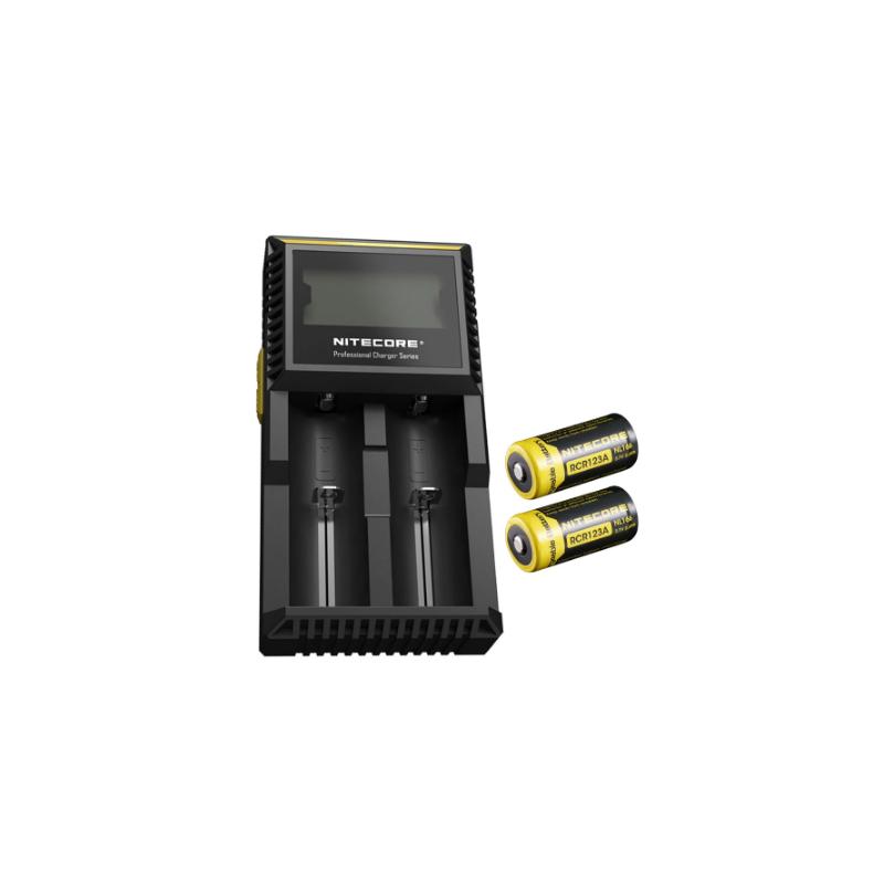 Nitecore D2 (LCD) akulaadija