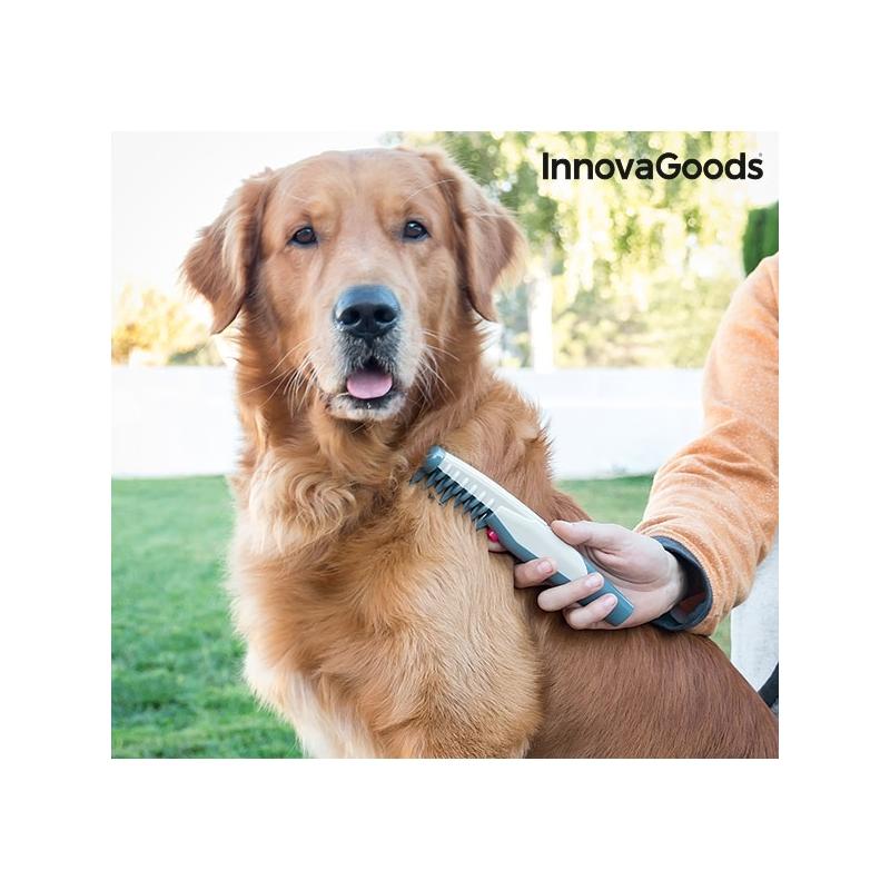 Pusasid eemaldav elektrikamm koertele InnovaGoods