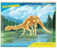 3D Puidust Pusle Dinosaurus  Junior Knows