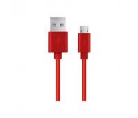 Kaabel Esperanza  MICRO USB 2.0 A-B M/M 1,2m - Red