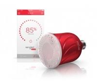 Pulse Satellite LED-pirn + juhtmevaba JBL kõlar, Punane