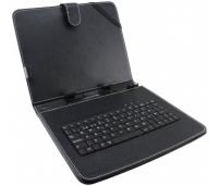 "Klaviatuur Keyboard Case For 7"" Tablets Black"