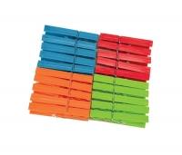Pesulõksud/ Pesunäpitsad York 20 tk 4 värvilised