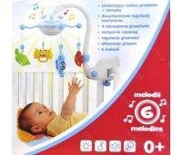 Voodikarussell reguleeritava puldiga . Baby mix 0+m.
