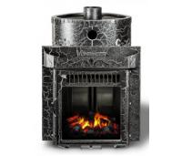 Saunaahi Harmonia(küttevõimsus 12-30 m3/ 25kW) kütmine teisest ruumist